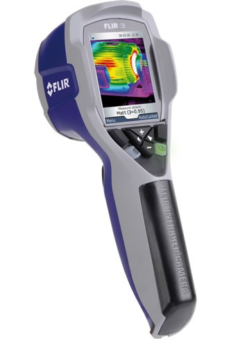 Thermal Camera Used for Measures thermal Leakage