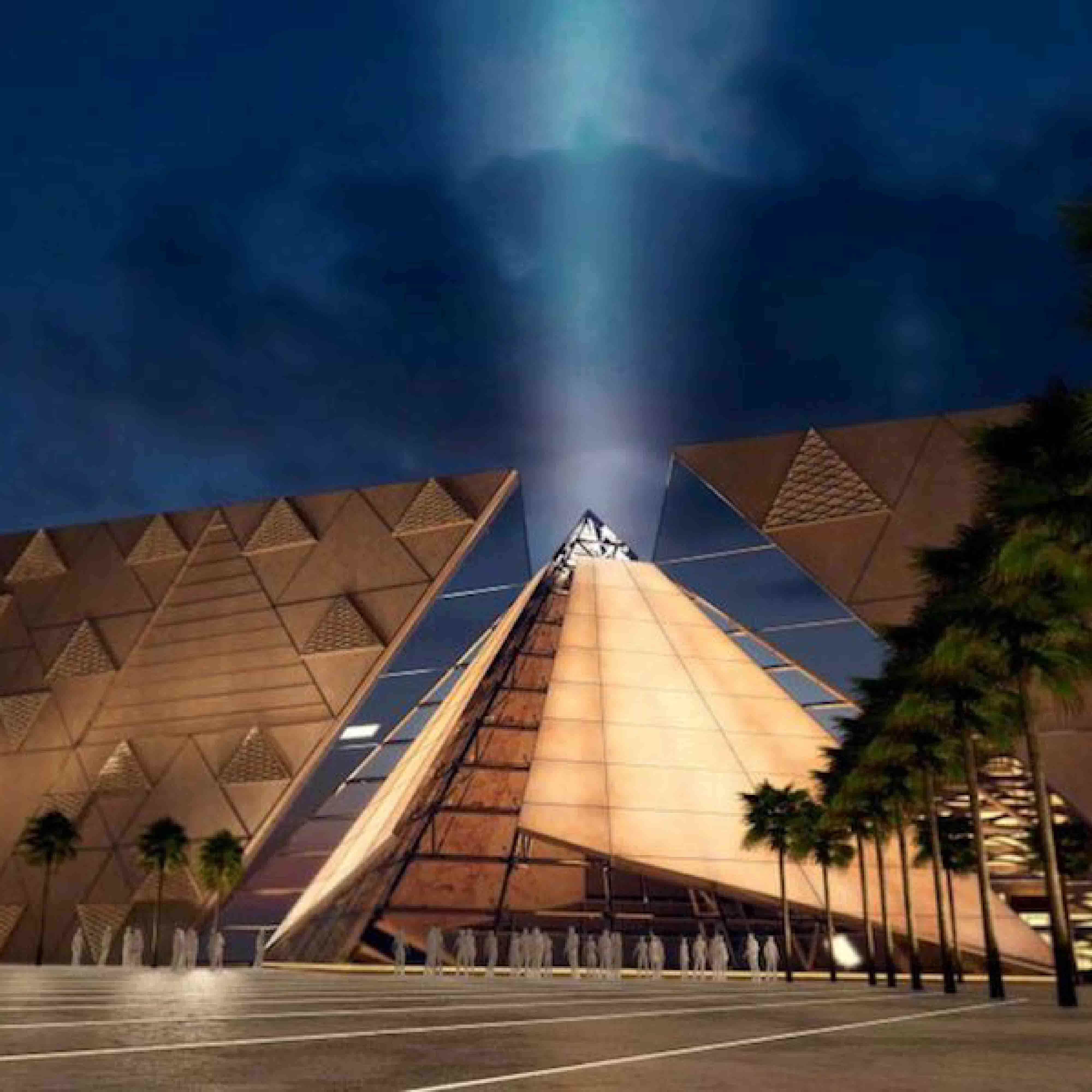 one of tab projects Grand Museum In Egypt -